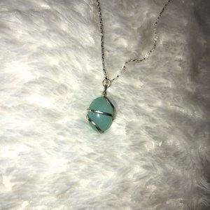 Pretty blue necklace